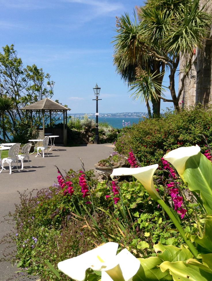 View from The Berry Head Hotel entrance, Brixham