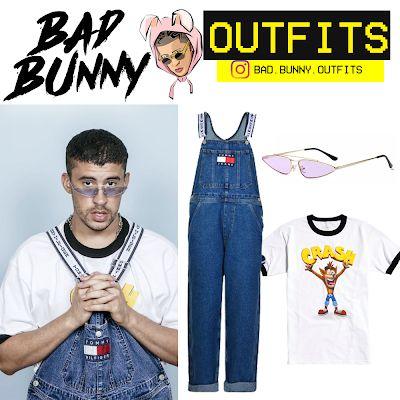 b6b9ff5fe Bad Bunny Outfits  Bad Bunny - Tommy
