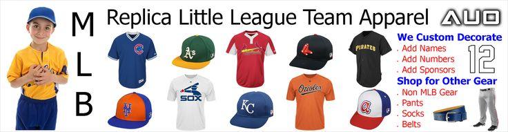 Little League Baseball Uniforms