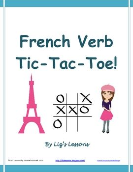 Looking for a fun way to get your students to practice conjugating verbs? Try verb tic-tac-toe!