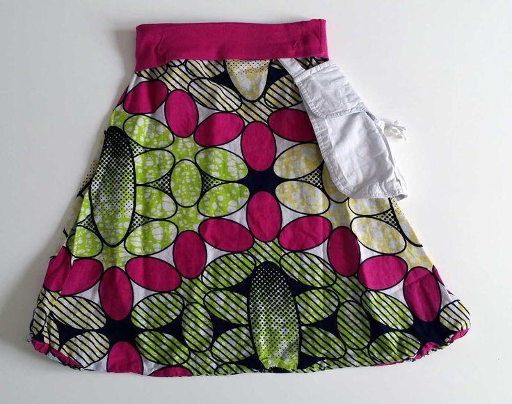 Sarouel fille motifs africains avec poche sur le côté  Mode filles par  petite,abeille