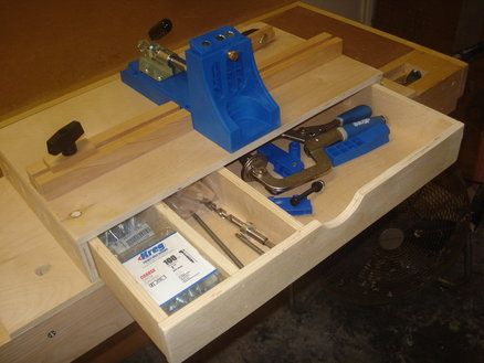 "Create something similar to this, but for the ""tool tower"" system! Well, once I have the Kreg jig that is. :)"