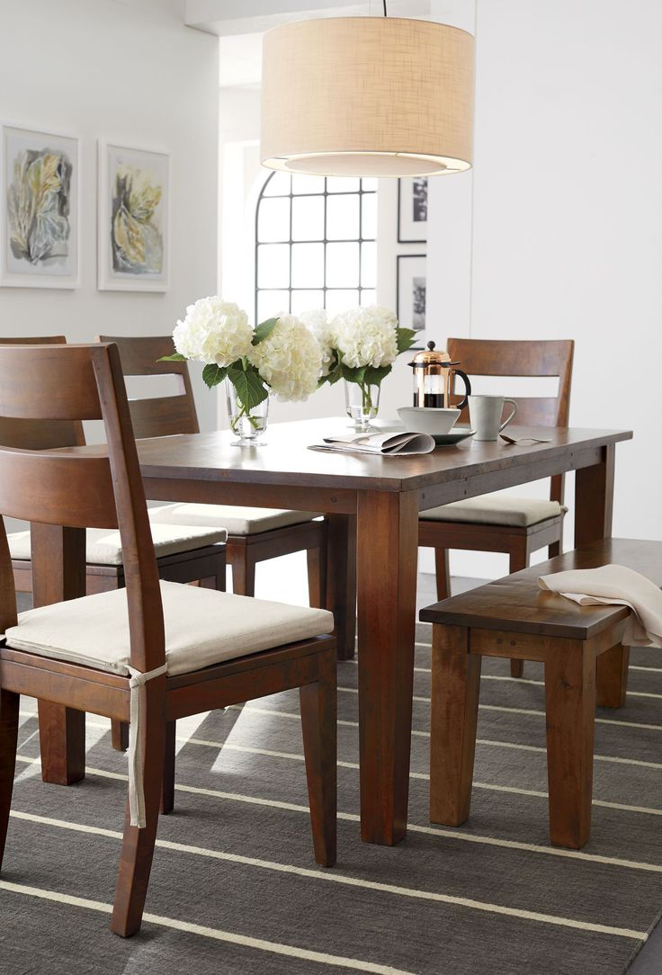 Crate and barrel dining room table - 17 Best Images About Dining Rooms On Pinterest Crate And Barrel High Dining Table And Leather Dining Chairs