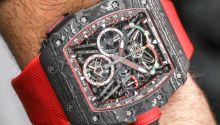 The new IWC Da Vinci Chronograph & IWC Da Vinci Tourbillon Retrograde watches for SIHH 2017 with images, price, specs, & analysis.