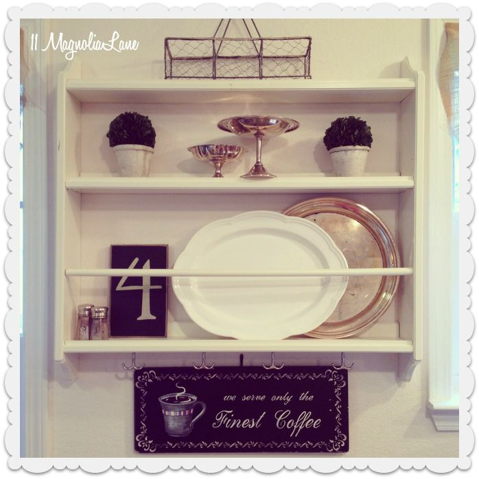 Ikea Stenstorp plate rack--styled & 33 best IKEA plate shelf images on Pinterest   Kitchens Shelving ...