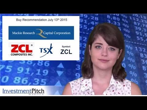 Mackie Research has updated coverage on ZCL Composites (TSX: ZCL)