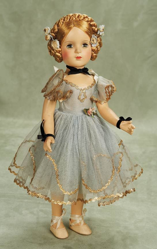 American Composition Karen Ballerina by Alexander ca 1948- Theriault's Antique Doll Auctions