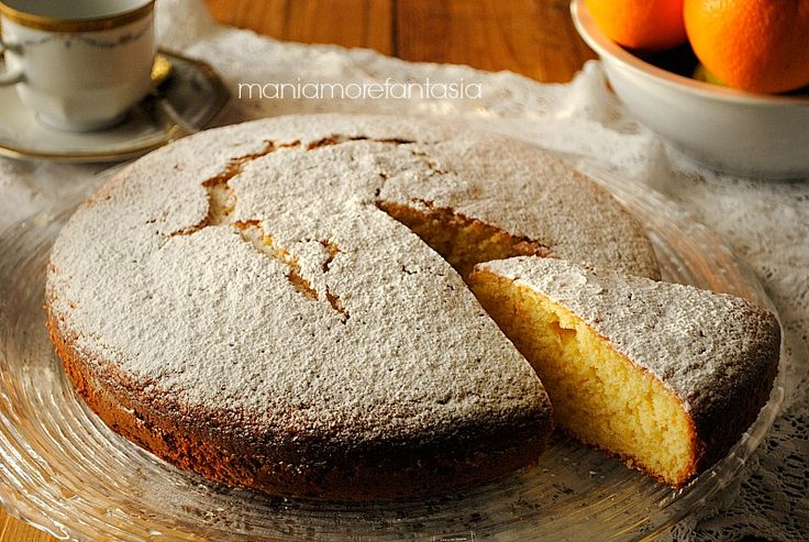 Il pan d'arancio, ecco il pan d'arancio il dolce più semplice e più veloce che conosco, non devi sbucciare, spremere, grattugiare....