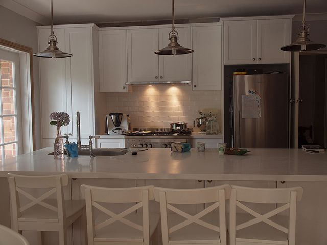 Great kitchen - love the pendent lights