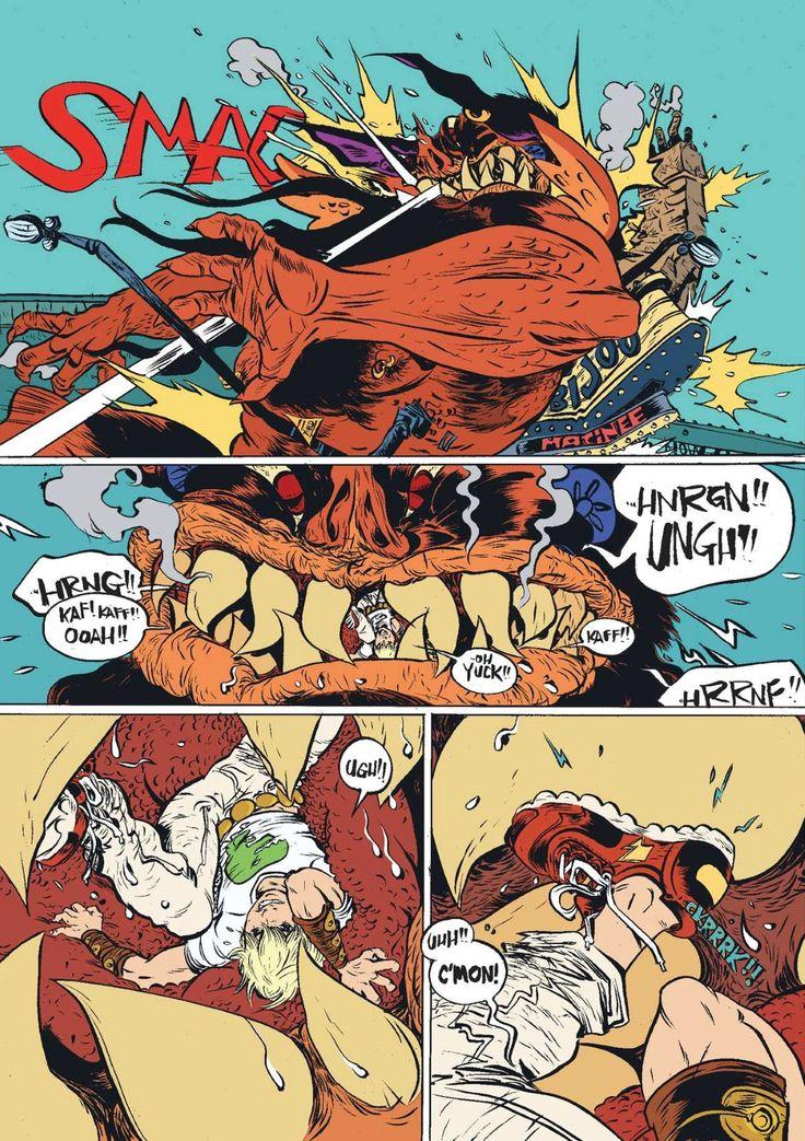 Battling Boy (First Second - October 2013) Writer/Illustrator: Paul Pope