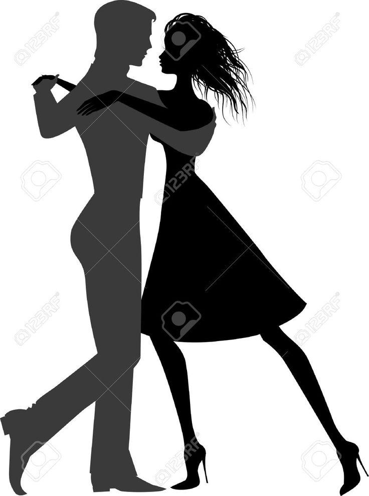Resultado De Imagem Para Casal Dancando Couple De Danseurs Pochoir Silhouette Dessin Zen