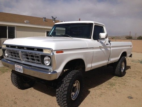 1977 ford 4x4 | 1977 Ford F-250 4x4 on 2040cars