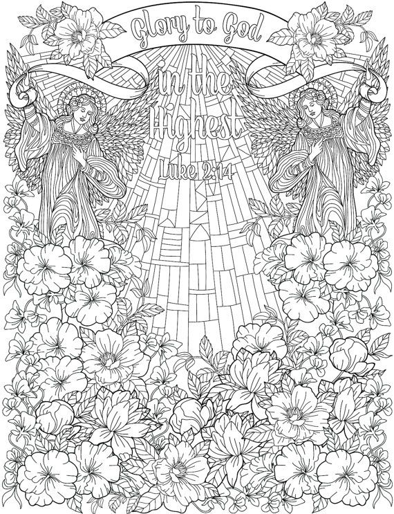 976 best Adult Colouring~Christmas~Easter ~ Zentangles ...