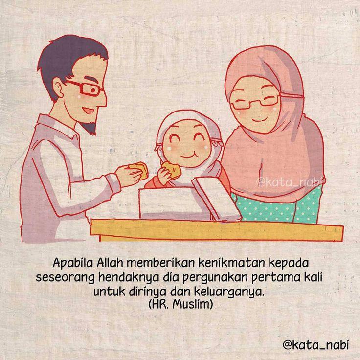 keluarga Agama, Kartun, Iman