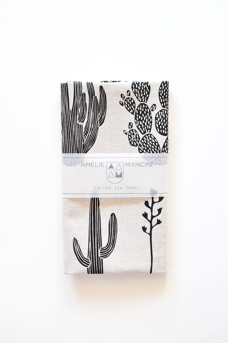 Cactus Tea towel. Present ideas! I would like this yes please and thank you.  https://www.etsy.com/shop/ameliemancini