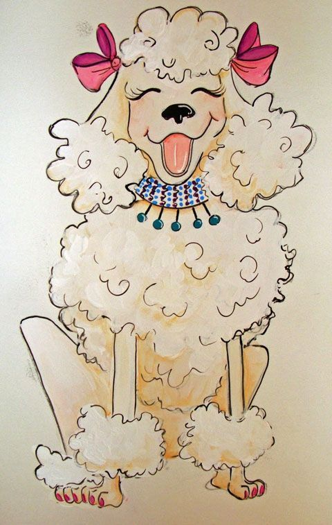 poodle illustration; unable to find more info since original source is now 404 error