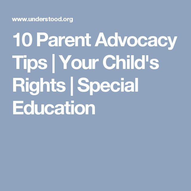 10 Ways to Be an Effective Advocate for Your Child at School