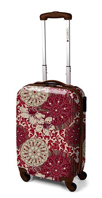 ABS Hard Shell Cabin Case Designed Ryanair EasyJet Onboard Hand Luggage Wheels (5240 Malawi) 67,99£