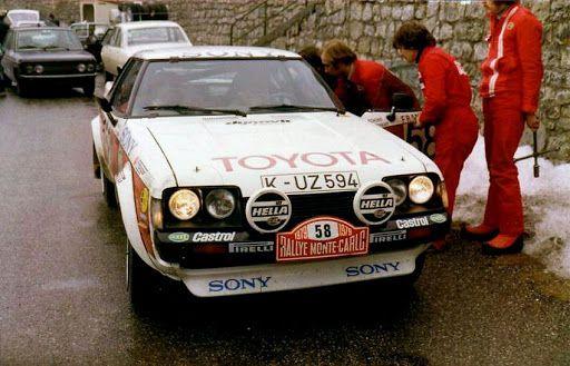 Celica Ta40 Carlo 1979 Fritzinger Schons Toyota