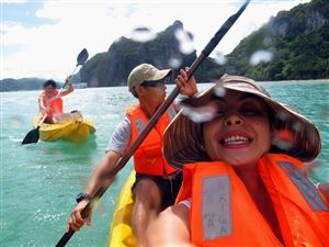 Hike to the Puerto Princesa Subterranean River, explore the islands of El Nido on kayak, and discover why Palawan is in a league of its own when it comes to tropical destinations.