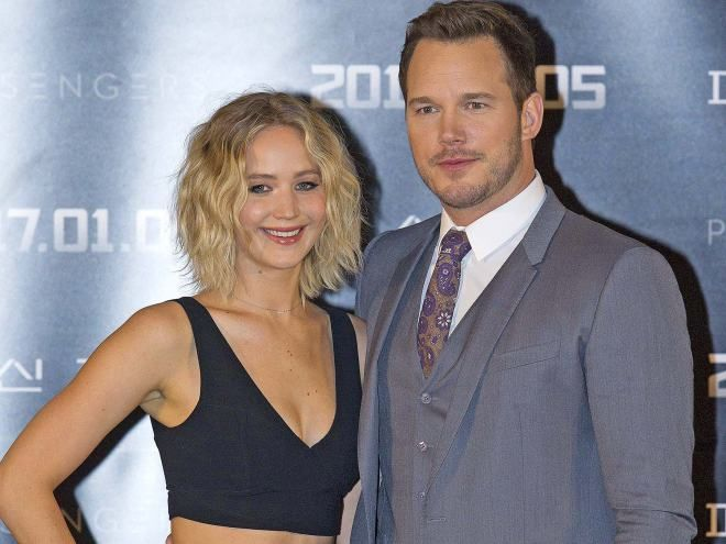 Chris Pratt and Jennifer Lawrence's radio interview gets awkward after a question about sex