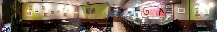 Sushi Kara wall painting #wallpainting #art #painting #mural #pinterart #design #interiordesign