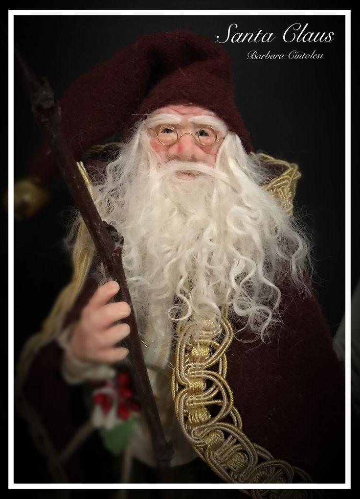 Santa Claus - Ooak Doll - Christmas