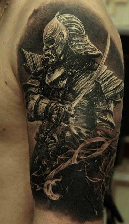 #samurai #tattoo #samuraitattoo