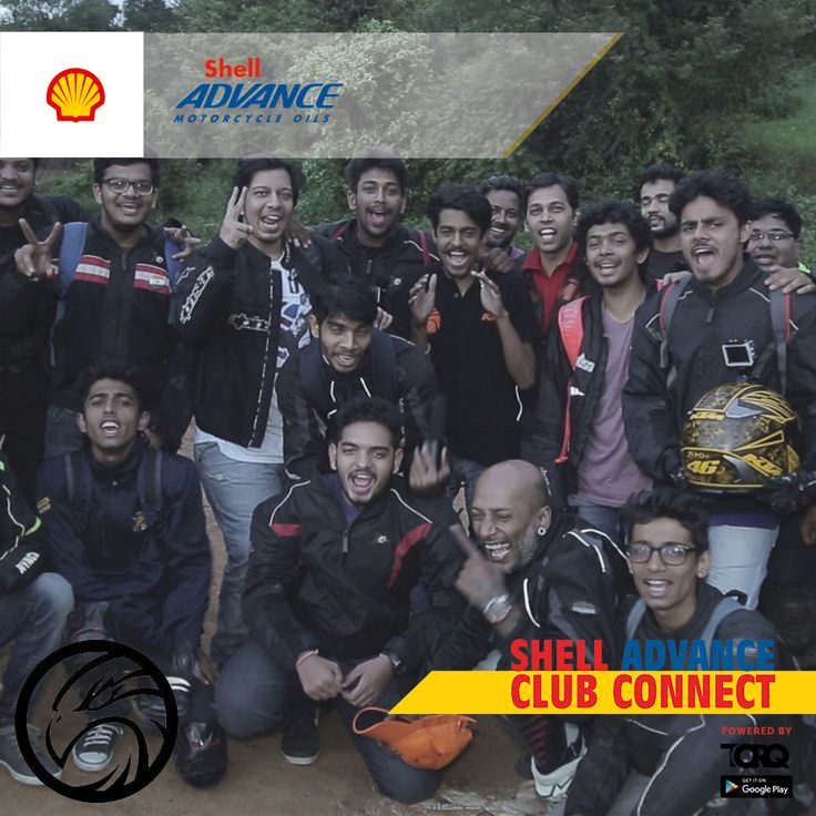 Shell Advance club connect powered by TORQ is experiencing biking passion and a warm welcome from HAWKS Pune Club..! #TheWinningIngredient #TORQ #TorqRiderApp #bikerlife