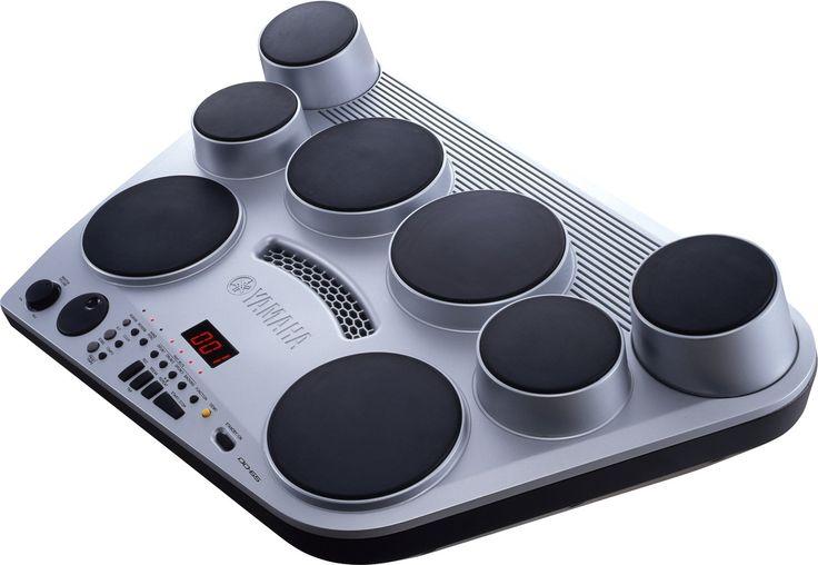 Digitalt trumset med 8st slagplattor och två pedaler, AUX ingång, 254 ljud