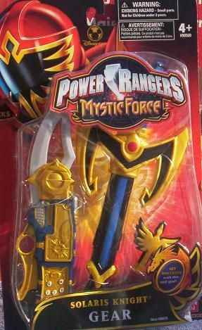 Power Rangers Mystic Force Solaris Knight Cell MORPHER Set NEW in Package. $19.99