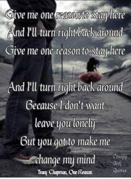 Tracy Chapman~ Give Me One reason