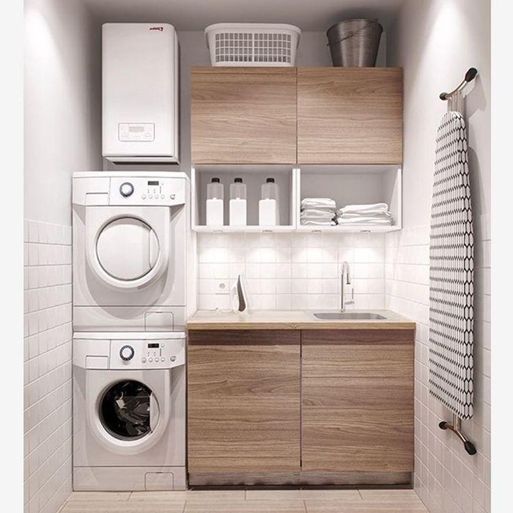 Oltre 25 fantastiche idee su lavanderie piccole su pinterest spazio lavanderia piccola - Meuble sdb ontwerpen ...