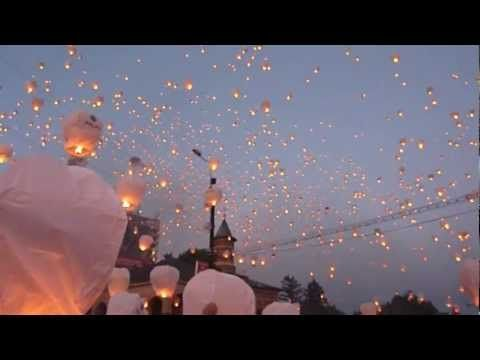 Sky Lanterns Guinness World Record, Iasi, Romania 2012