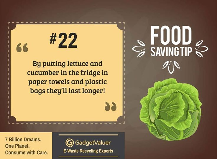 Food Saving Tip 22 | 150+ Sustainability Resources | #WED2015 #7BillionDreams #Sustainability