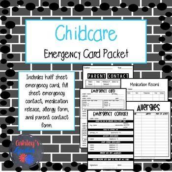 Více než 25 nejlepších nápadů na Pinterestu na téma Emergency - emergency contact forms