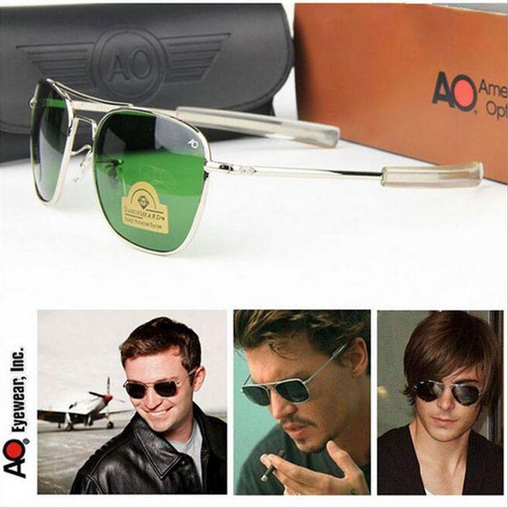 $5.59 (Buy here: https://alitems.com/g/1e8d114494ebda23ff8b16525dc3e8/?i=5&ulp=https%3A%2F%2Fwww.aliexpress.com%2Fitem%2F2017-Army-MILITARY-AO-Sunglasses-Men-American-Optical-Glass-Lense-Alloy-Frame-Quality-Pilot-Sunglasses-With%2F32787372512.html ) 2017 Army MILITARY AO Sunglasses Men American Optical Glass Lense Alloy Frame Quality Pilot Sunglasses With Box Oculos De Sol for just $5.59