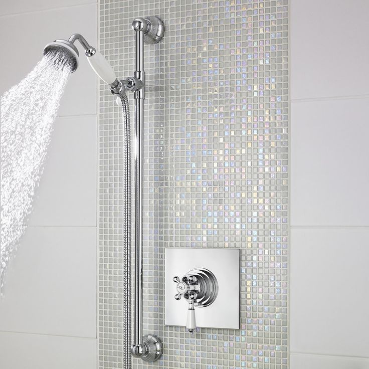 The beautifully designed Old London Traditional dual concealed thermostatic shower valve is perfect for creating a classic and elegant look to the bathroom. Made from solid brass with a chrome finish this TMV2 approved shower valve features a built-in anti-scald device for complete peace of mind when showering.