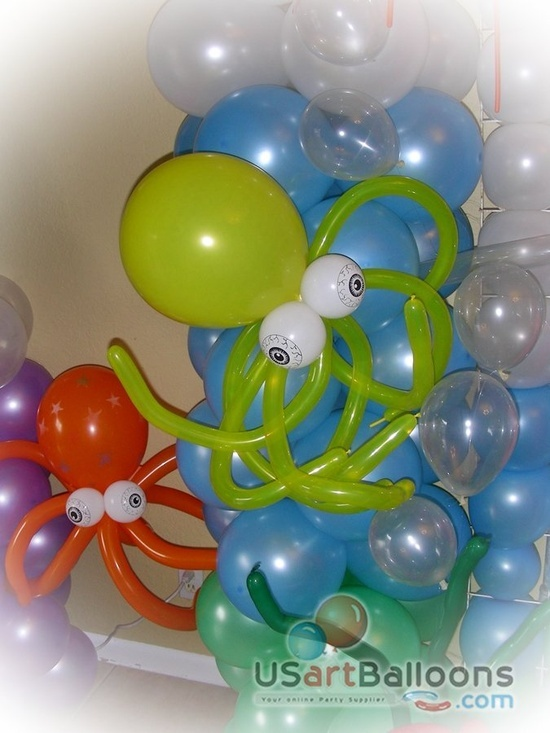 1000 Images About Octopus Birthday Party On Pinterest
