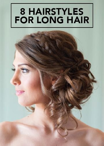 From messy updo's to soft bridal curls, find the long-hair wedding hairstyle inspiration you've been looking for with these 8 unique ideas!