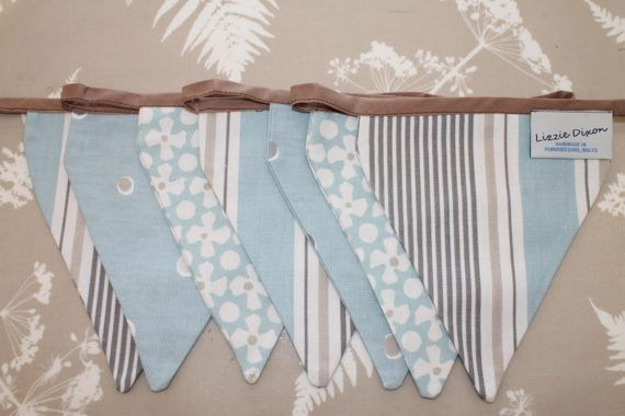 Nautical Bunting Fabric Bunting Seaside Pennant Banner