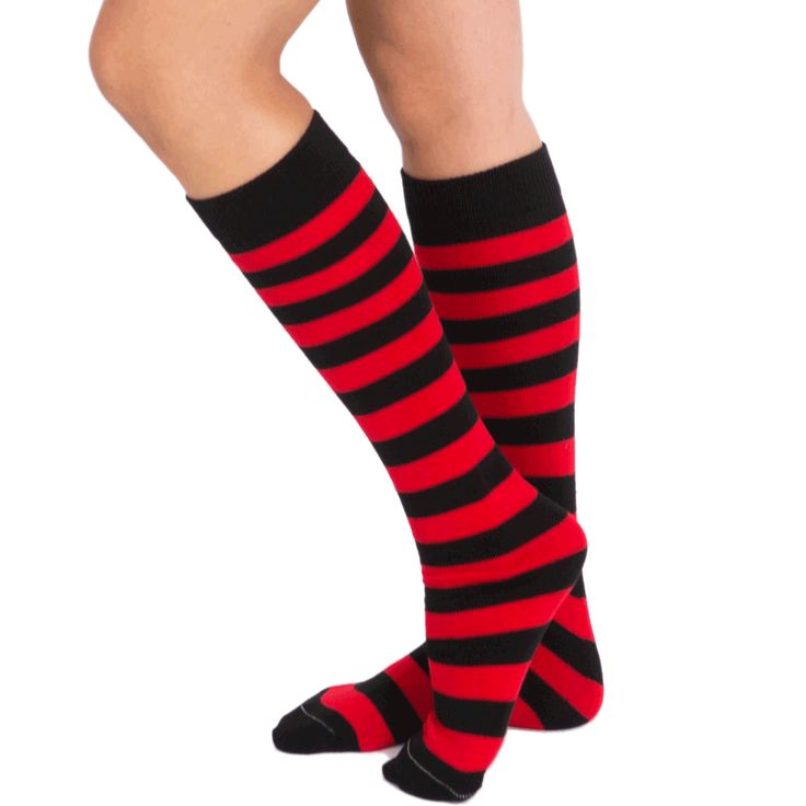 red and black striped socks - Google Search