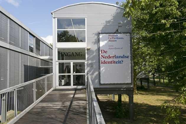 Museum De Paviljoens tijdens De Nederlandse identiteit? Half suiker, half zand. © Jordi Huisman, Museum De Paviljoens