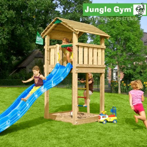 Jungle Gym Cottage - Wooden Climbing Frames for Children - Now on Sale!