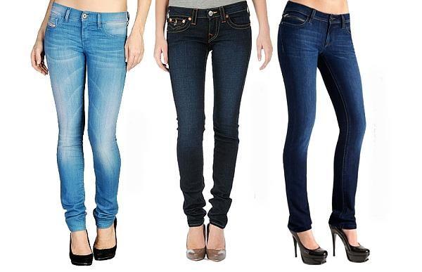 Как выбрать обтягивающие джинсы