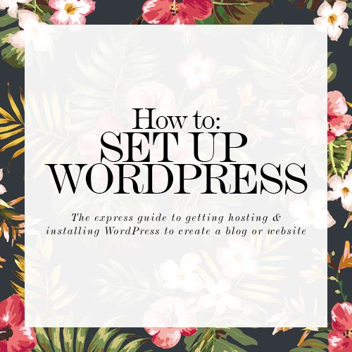 How to set up WordPress - the express guide.