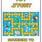 Toy Story Math Folder Game - Rounding to Nearest Tenth   This file is for one math file folder game. All you really need besides this file  is a ma...