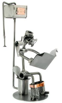 Toilet Nuts and Bolts Figure