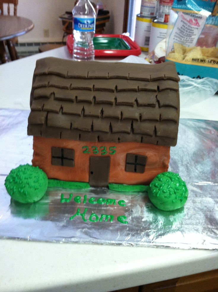 12 best welcome home cake images on pinterest welcome for Welcome home cake decorations