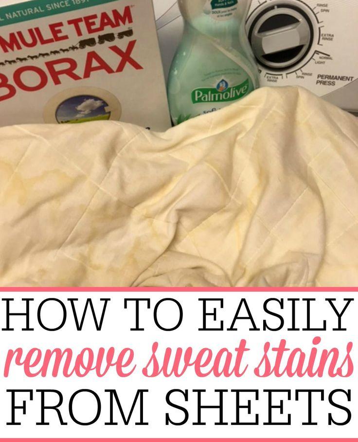 Best 25 Remove Sweat Stains Ideas On Pinterest Sweat